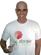 Reynaldo Gianecchini em campanha da Abrale (Foto: Divulgação)