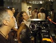 Cecília Amado e o marido Guy Gonçalves, que co-dirigiu e fez a direção de fotografia de Capitães de areia (Foto: Divulgação)