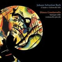 """O álbum duplo """"Seis Suítes a violoncello solo"""", de Bach, por Goudaroulis (Foto: Reprodução)"""