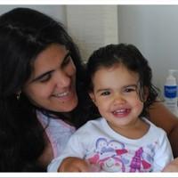 Laura Souza e sua filha Ligia (Foto: Arquivo pessoal)