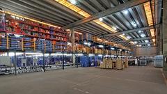 Centro de distribuição da Netshoes: ascensão surpreendente que mostra uma mudança no comércio eletrônico (Foto: Fernando Martinho)