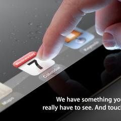 """""""Algo que você quer ver. E tocar."""" Será o iPad 3?"""