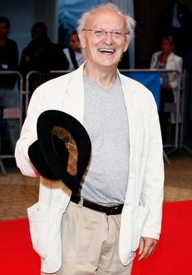 """O cartunista francês Jean Giraud, conhecido como Moebius, durante lançamento do filme """"The Fountain"""", em 7 de setembro de 2006 (Foto: François Durand / Getty Images)"""