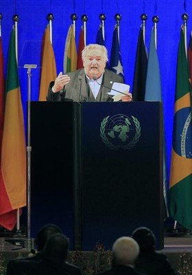 José Mujica presidente do Uruguai (Foto: EFE)