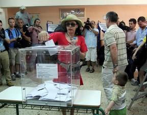 Eleição na Grécia (Foto: Agência EFE)