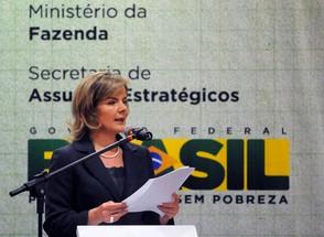 A ministra-chefe da Casa Civil, Gleisi Hoffmann (Foto:   Wilson Dias/Abr)