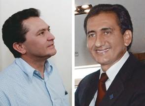 Pedro Paulo Dias (à esq.) e Waldez Góes. Eleitos na mesma chapa, foram presos na mesma operação da Polícia Federal (Foto: Arquivo ÉPOCA)