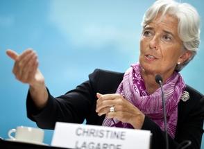Christine Lagarde diretora-gerente do Fundo Monetário Internacional (Foto: Getty Images)