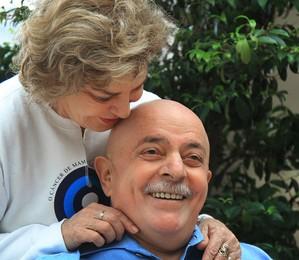 Lula, de bigode, e a mulher Marisa (Foto: Ricardo Stuckert )