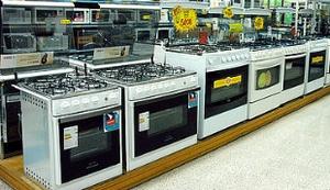 Fogão Linha branca bens duráveis eletrodomésticos varejo consumo vendas (Foto: Reprodução/Internet)