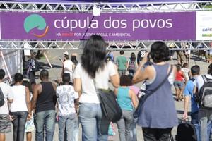 Cúpula dos Povos - Evento paralelo à Rio+20 (Foto: Fabio Rodrigues Pozzebom/ABr)