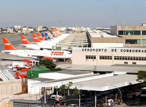 Aeroporto de Congonhas  (Foto: Valter Campanato/Agência Brasil)