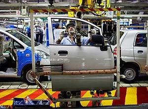 Linha de montagem da General Motors (GM) em São Paulo (Foto: Divulgação)