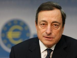 Mario Draghi presidente do Banco Central Europeu BCE (Foto: Getty Images)