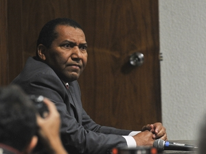 O ex-sargento da Aeronáutica Idalberto Matias de Araújo, o Dadá, acusado de envolvimento com o contraventor Carlinhos Cachoeira (Foto: Antonio Cruz/Abr)