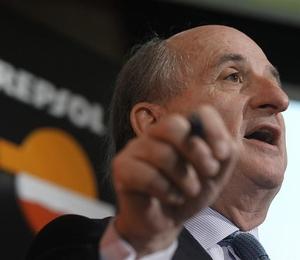 Antonio Brufau , presidente da Repsol: vai ter que pagar (Foto: EFE)