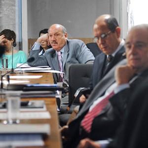 Senador Luis Henrique da Silveira apresentou relatório sobre código florestal no Senado (Foto: José Cruz/Agência Senado)