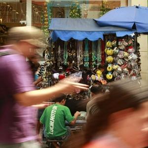 25 de Março Varejo Consumo Compras Classe C Comércio (Foto: Agência Estado)