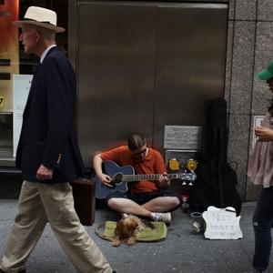 Crise nos EUA Desemprego nos EUA Sem-teto (Foto: Getty Images)