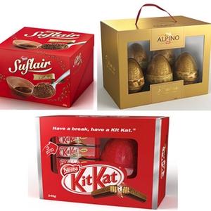 Ovos de Páscoa Nestlé (Foto: Divulgação)