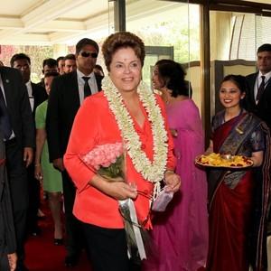 Dilma Rousseff chega à Índia para reunião dos Brics (Foto: Roberto Stuckert Filho/PR/Agência Brasil)