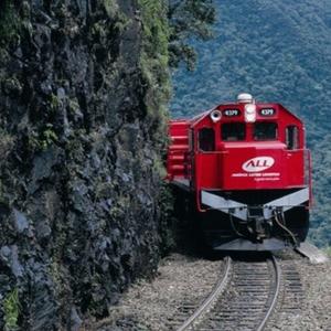 Trem da ALL América Logística (Foto: Divulgação)