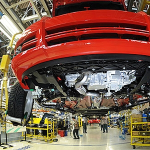 Linha de montagem da Fiat em Minas Gerais Veículos Carro Indústria (Foto: Divulgação)