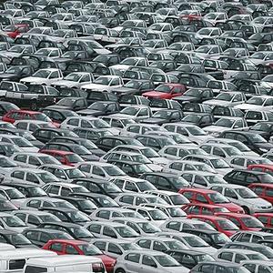 Pátio de fábrica da Volkswagen em São Paulo Veículos Carro Indústria (Foto: Agência Estado)