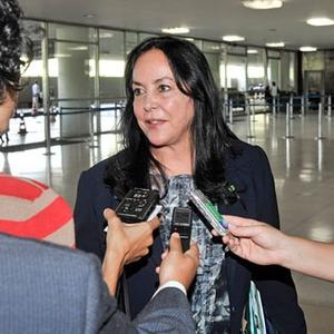 Deputada Rose de Freitas fará a leitura nesta quinta-feira (Foto: José Cruz/Agência Senado)