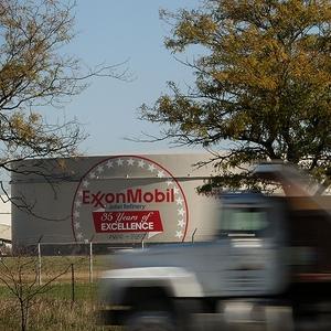 Refinaria da Exxon Mobil nos EUA. Empresa comemora 100 anos de presença no Brasil (Foto: Getty Images)
