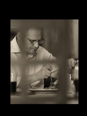 Beltrame é um bom garfo. Seus pratos favoritos são carne assada com nhoque e, de sobremesa, pudim de leite condensado com casquinha de limão. (Foto: André Valentim/ÉPOCA)