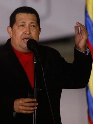 Hugo Chávez retorna a Venezuela (Foto: Agência EFE)