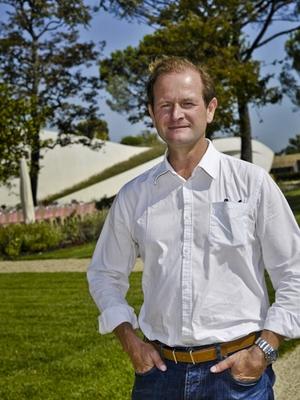 Pierre Lurton, diretor dos Château Cheval Blanc e Yquem: 20 anos preparando vintage (Foto: Divulgação)