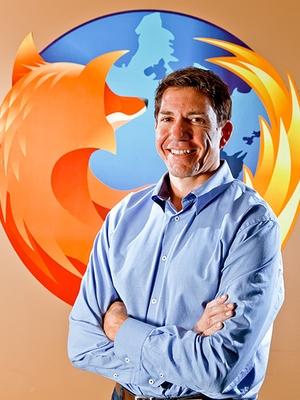 Gary Kovacs, presidente da Mozilla Corporation (Foto: Divulgação)