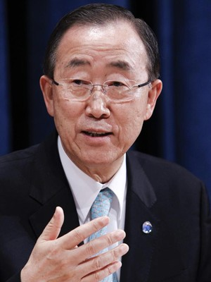 Ban Ki Moon  (Foto: Agência EFE)