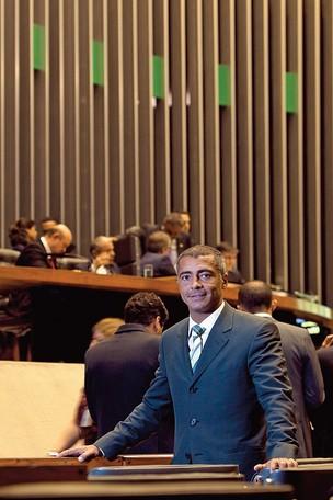 Romário deputado federal e ex-jogador (Foto: Igo Estrela/ÉPOCA)