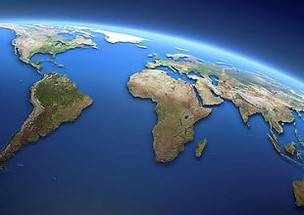 Globo Terrestre Países Mundo (Foto: Reprodução/Internet)