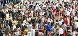 Aeroporto de Cumbica aeroporto de Guarulhos Aeroportos Passageiros Check-in (Foto: Agência O Globo)