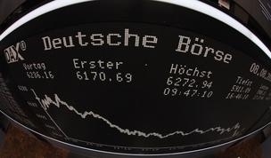 Bolsa de Frankfurt Economia da Alemanha (Foto: Getty Images)