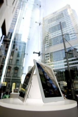 Lançamento do novo iPad nos EUA (Foto: AFP Photos)