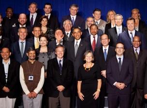 Obama durante encontro da ONU (Foto: Getty Images)
