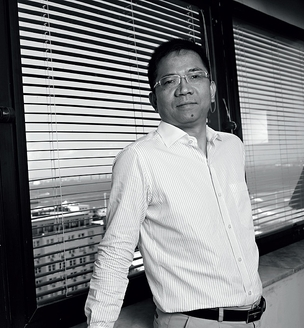 """O camarada Cai Hongxian, CEO da State Grid: """"Viemos aprender. Aqui tudo é competição, competição, competição"""" (Foto: Pedro Meyer)"""