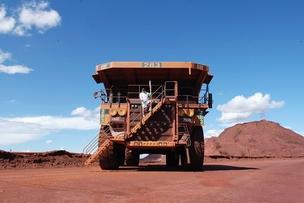 Caminhão em mina da BHP Billiton na Austrália (Foto: Getty Images)