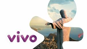 Nova logomarca da Vivo, com o shape do Vivinho: reforço em todas as campanhas (Foto: Divulgação)