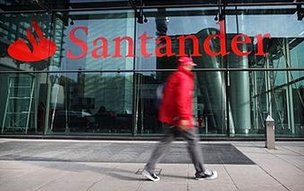 Sede do Banco Santander em Londres (Foto: Getty Images)