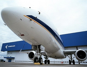E-jet da Embraer (Foto: Divulgação)