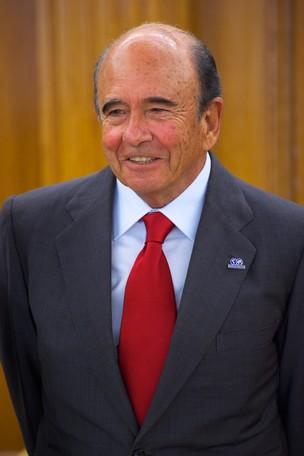 Emilio Botín, controlador do Banco Santander (Foto: Getty Images)