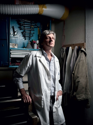 """Janólio, da Electrocell:   """"A inovação é cheia de riscos.  Mas só com ela  se dá um salto""""  (Foto: Filipe Redondo)"""
