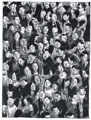 Ilustração do livro Shenzhen, o primeiro do quadrinista, inspirado nas anotações que fez sobre sua rotina  no sul da China (Foto: Ilustração: Guy Delisle)