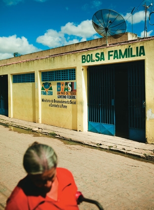A sede do Bolsa Família de Campo Alegre, que concede o benefício a mais  de 5 mil famílias  (Foto: Claus Lehmann)